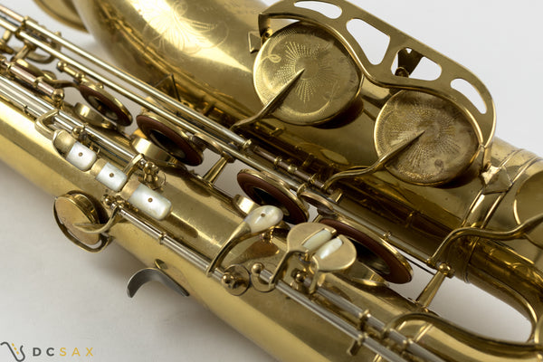 King Super 20 Tenor Saxophone, Full Pearls, Original Lacquer, Fresh Overhaul, Video