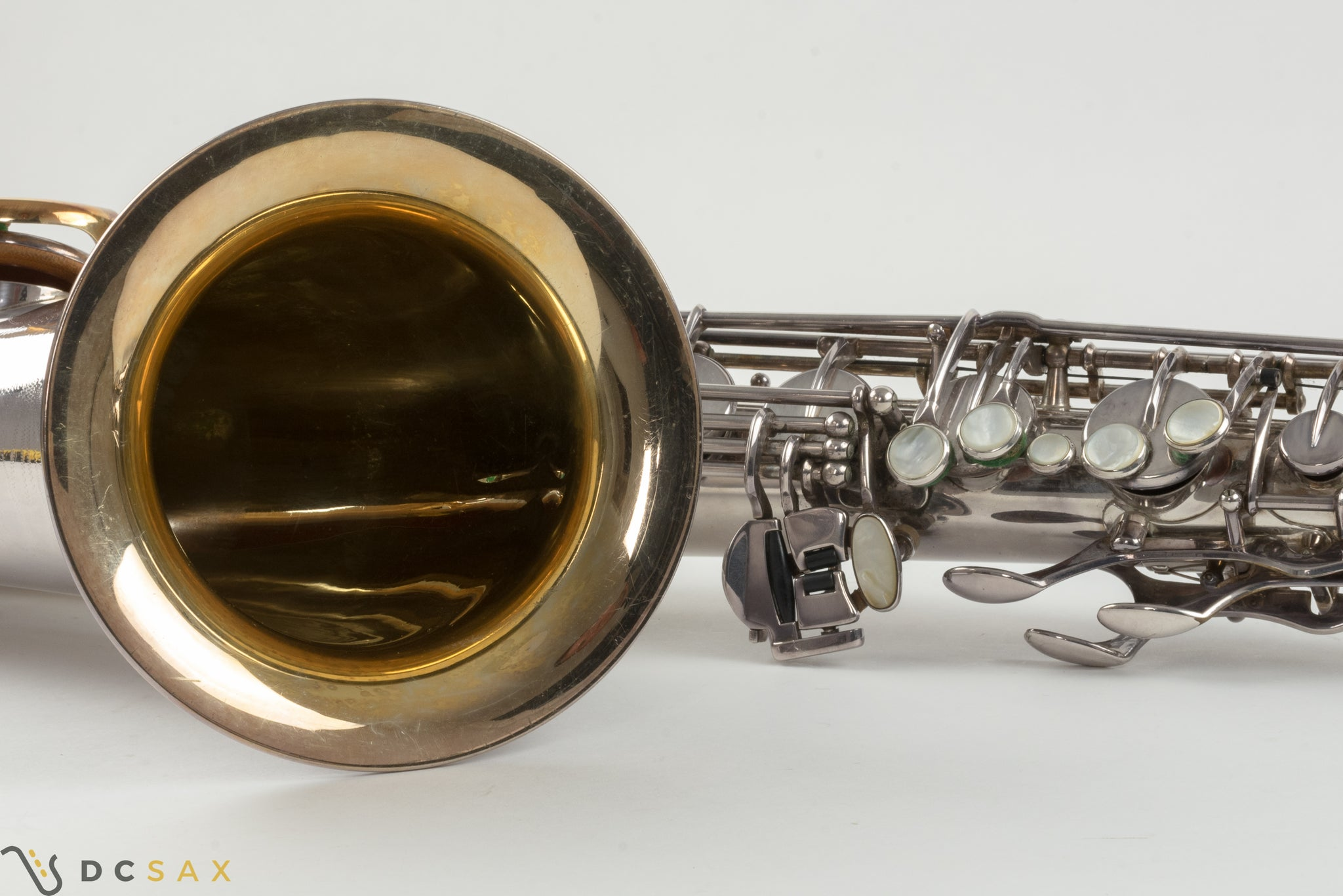 1962 103,xxx Selmer Mark VI Tenor Saxophone, Silver Plated, Video