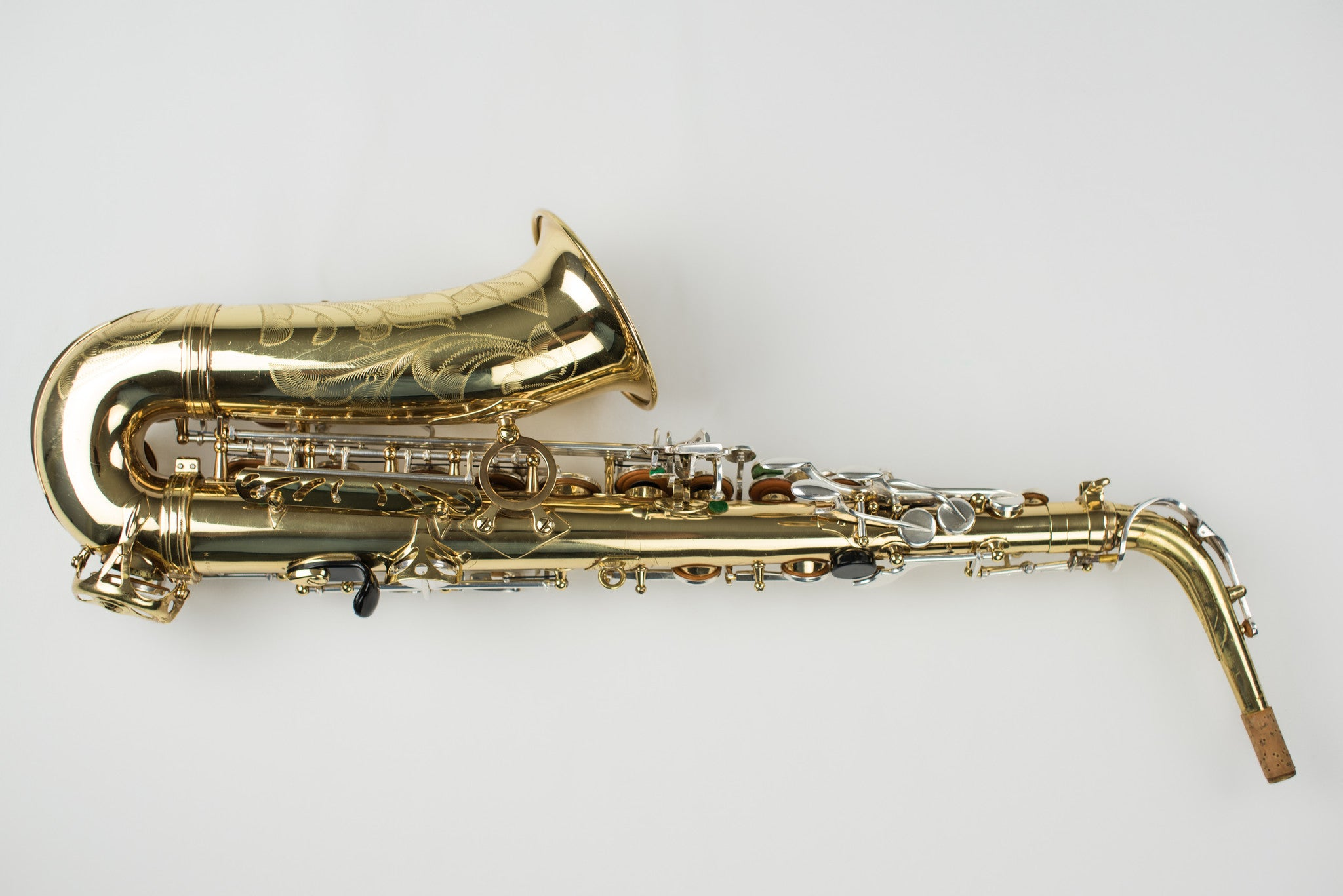 Selmer Super Action Series II Alto Saxophone with Silver Keys