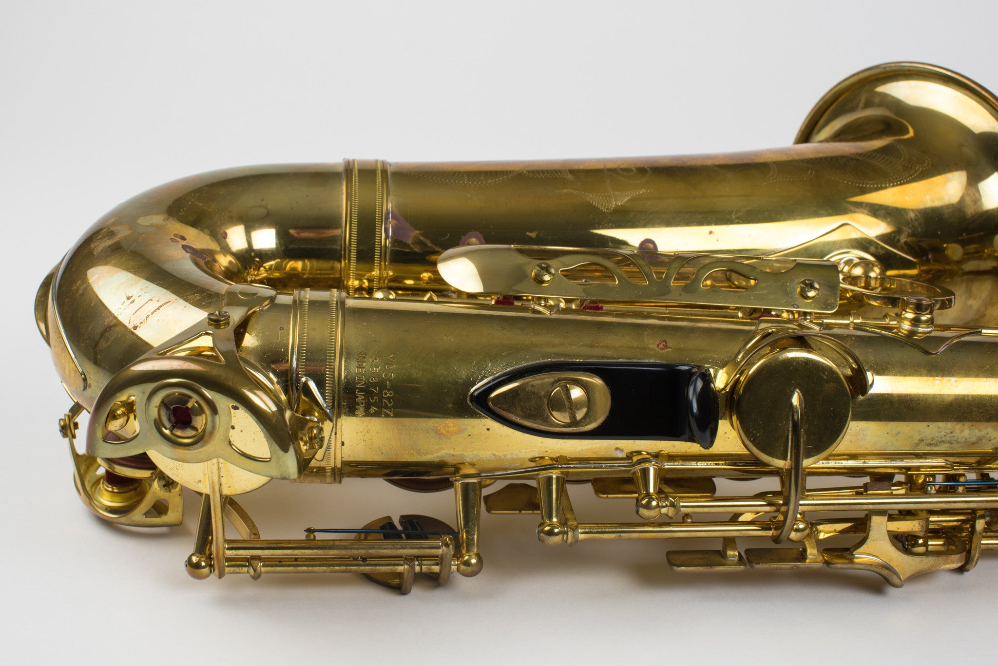 Yamaha 82Z Alto Saxophone Unlacquered Mint Condition! YAS-82ZU
