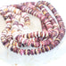 PURPLE SPINY OYSTER Beads Rondelles 8mm 16""