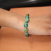 ANTIQUE TIBETAN TURQUOISE and 18k Gold Bracelet