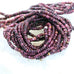 PURPLE SPINY OYSTER Beads Rondelles 3.5mm Deep Purple 16""