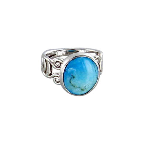 RING PERUVIAN OPAL Sterling Sze 6-7 - New World Gems - 2