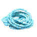 SLEEPING BEAUTY TURQUOISE BEADS MIXED BARREL TUBE DRUM