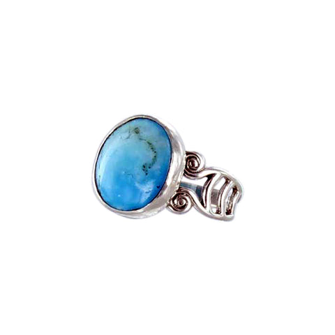 RING PERUVIAN OPAL Sterling Sze 6-7 - New World Gems - 3