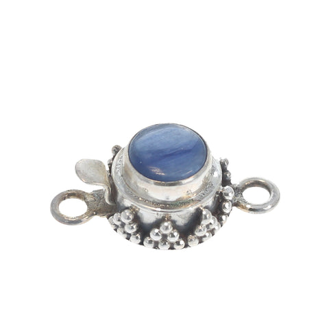 Kyanite Clasp Granulated 8mm