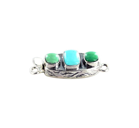 SLEEPING BEAUTY TURQUOISE  Clasp with Variscite - New World Gems