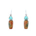 SONORA SUNRISE and Carico Lake Turquoise Earrings #4