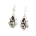 Apache Gold Sterling Silver Earrings Copper Ore Pyrite