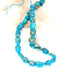 SLEEPING BEAUTY TURQUOISE Beads Large Nuggets Ovals