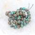 CARICO LAKE TURQUOISE Beads Multi Color Round 8mm #2