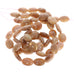 GOLDEN SUNSTONE BEADS OVAL 12x16mm