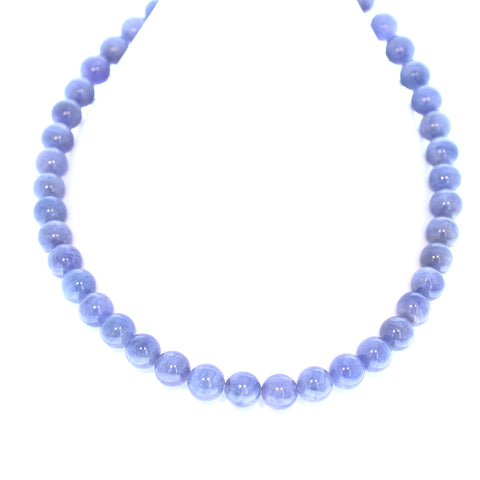 TANZANITE BEADS ROUND 10mm 16""