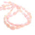 PINK PERUVIAN OPAL BEADS FREE FORM 17x14mm