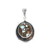 COLUMBUS MARCH TURQUOISE Pendant Sterling Southwest