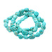 CARICO LAKE TURQUOISE BEADS Sky Blue 6-13mm Oval Nuggets