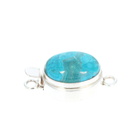 Gem Silica Clasp Oval Large Classic 18x14mm