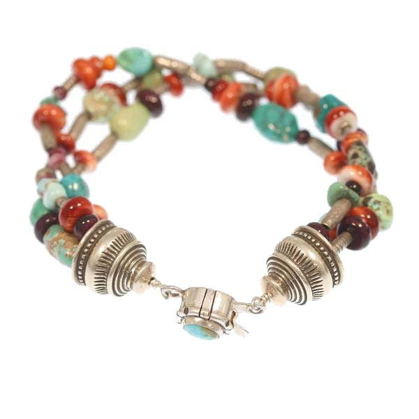 Colors of the Southwest Bracelet Sterling American Turquoise