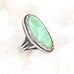 CARICO LAKE TURQUOISE RING Waterweb Mint Green Sterling Silver