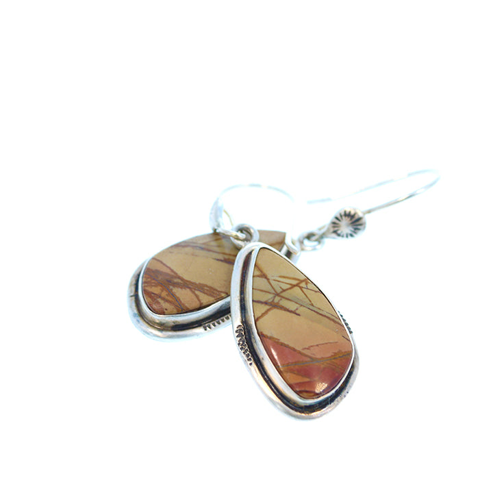 Sonora Sunrise Jasper Earrings Southwest Sterling