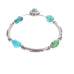 CARICO LAKE TURQUOISE Bracelet Vivid Color Sterling Silver