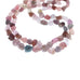 SPINEL BEADS Multi Color Nuggets Rough Matte Finish 16""