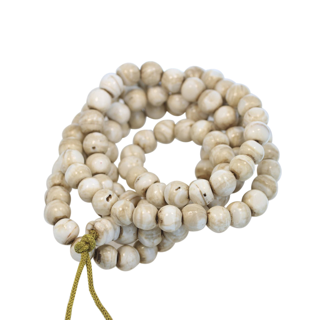 Naga Shell MALA PRAYER BEADS