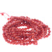 AAA Deep Red ITALIAN CORAL Beads Round 4mm 18""