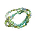 BLUE and GREEN TOURMALINE Beads Oval Shape 4.5x6.5mm