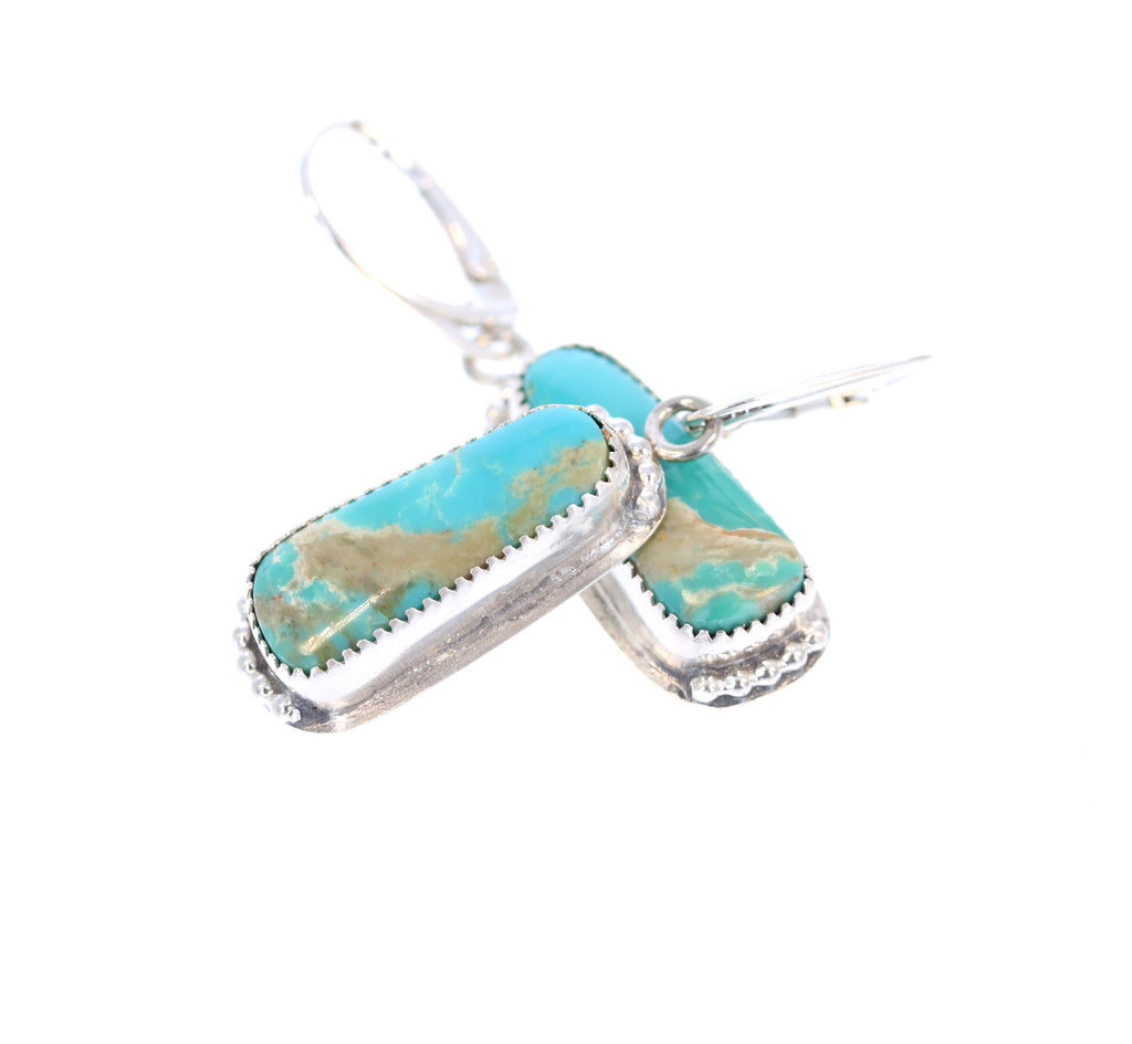 KINGMAN TURQUOISE Earrings Sea Green Southwest Style