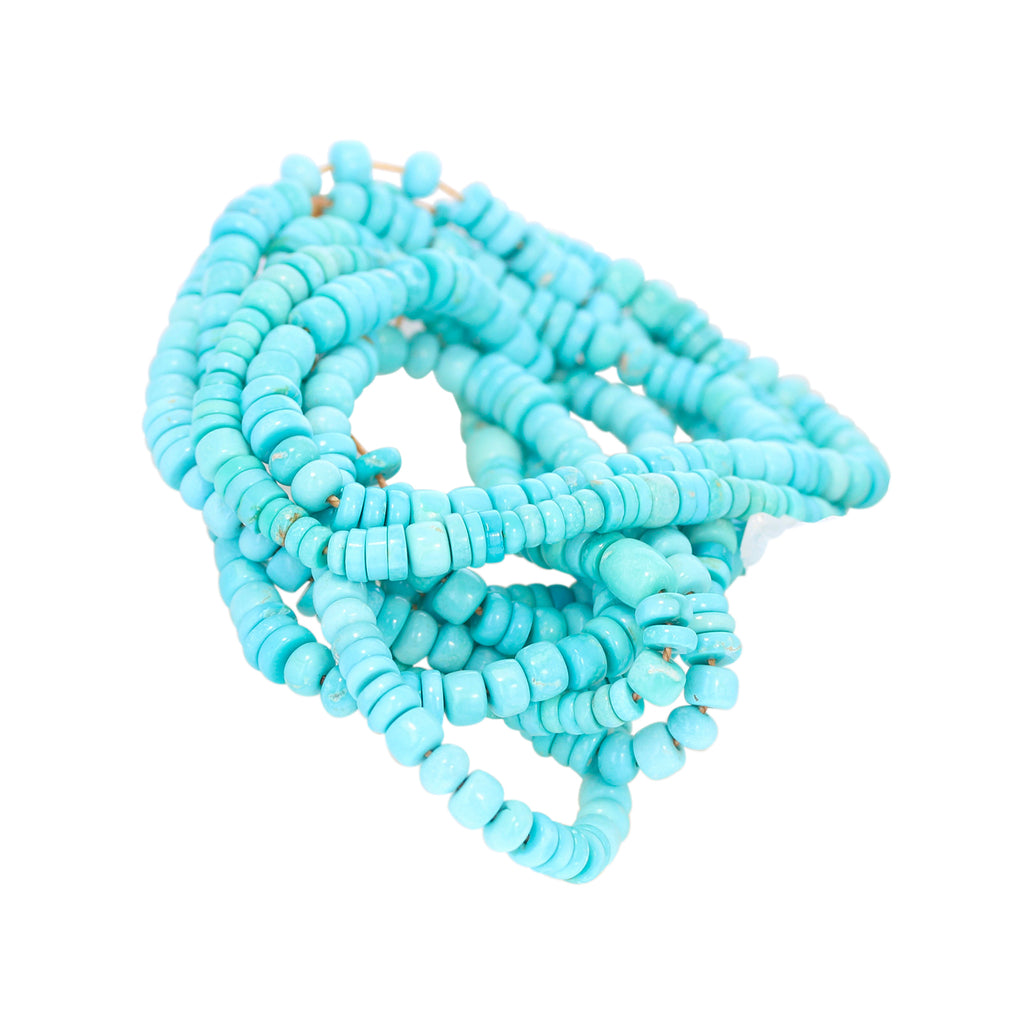 SLEEPING BEAUTY TURQUOISE Beads Mixed Shape Pueblo Buttons