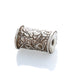 TIBETAN SNOW LION STERLING SILVER BEAD 1Pc 31mm