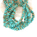 Caballo MEXICAN TURQUOISE Beads Disc Shaped 10-14mm