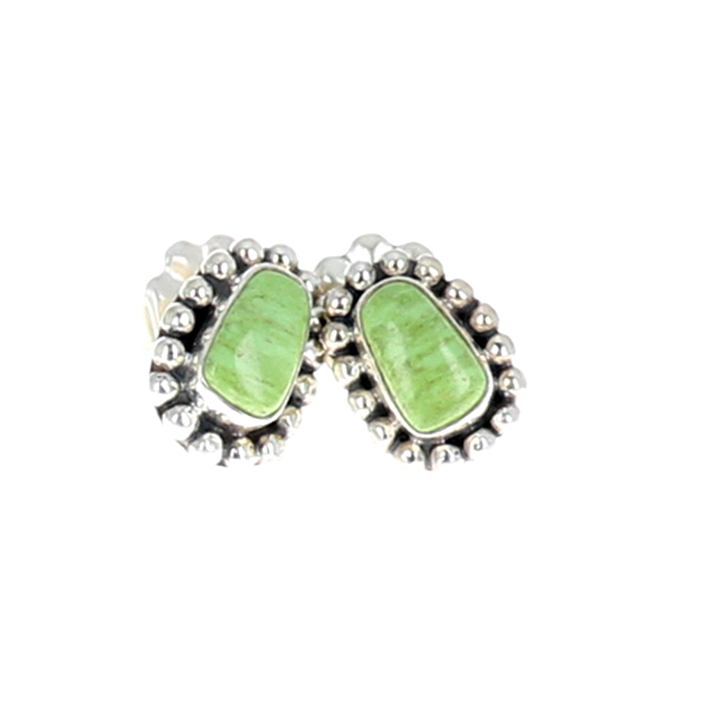 GASPEITE EARRINGS Sterling Southwest Style Posts Studs