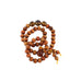 AMBER and IRONWOOD MALA PRAYER BEADS - New World Gems - 2