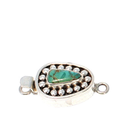 CARICO LAKE TURQUOISE CLASP DOT DESIGN #14