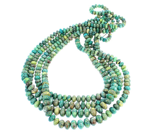 PRIMAVERA STONE BEADS Graduated Rondelles 5.5-10mm