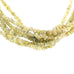 GOLD DRUSY DIAMOND BEADS 2.5mm NUGGETS 16""