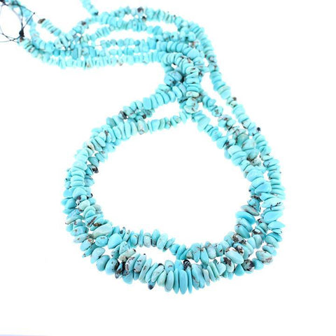 LONE MOUNTAIN TURQUOISE BEADS NUGGET BLUE