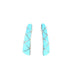 SLEEPING BEAUTY TURQUOISE 7 STONE EARRINGS