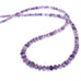 Mexican Opal Beads Graduated 4-8mm Rondelles Purple