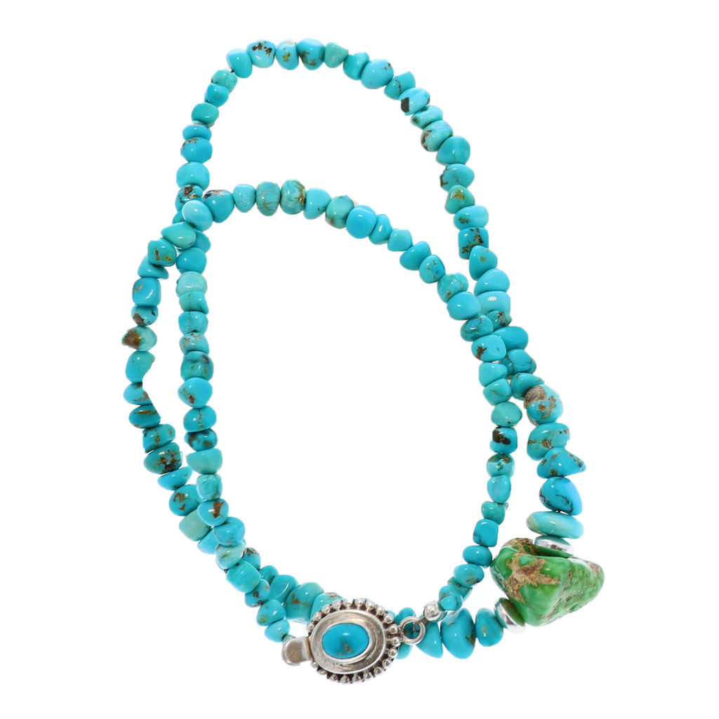 Rare LONE MOUNTAIN Turquoise Necklace with Pendant
