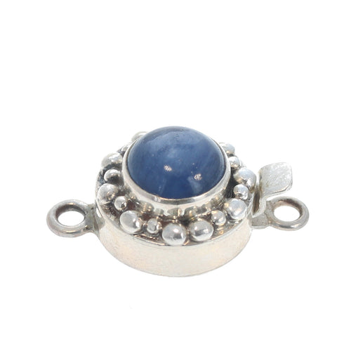 Kyanite Round Clasp 10mm