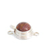 GOLD PIETERSITE CLASP Sterling Round 12mm
