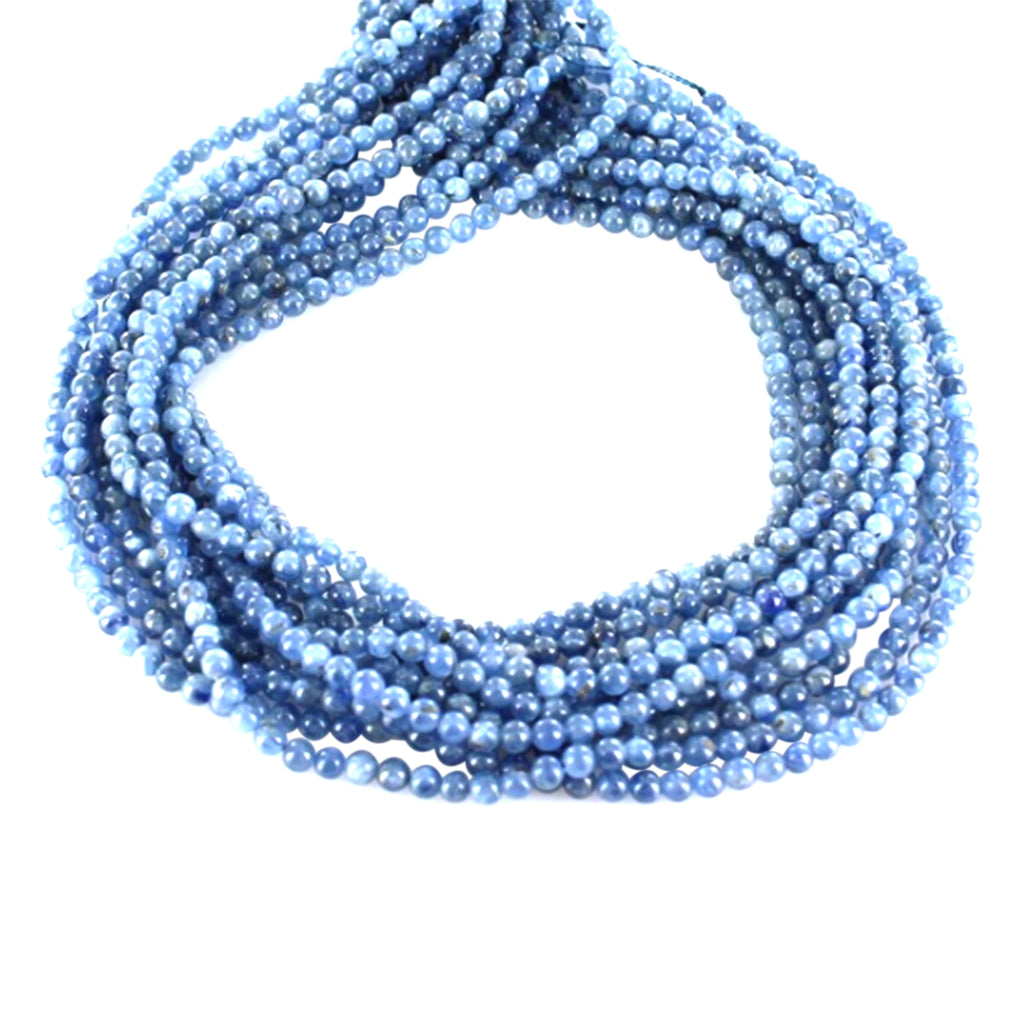 KYANITE BEADS ROUND 4mm 16""