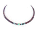 Carico Lake Turquoise Purple Spiny Oyster Necklace Southwest 20""