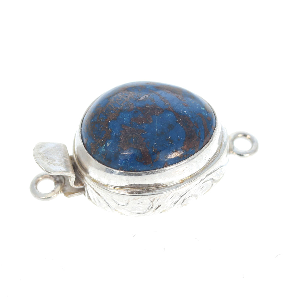 SHATTUCKITE CLASP Large Free Form Sterling Silver