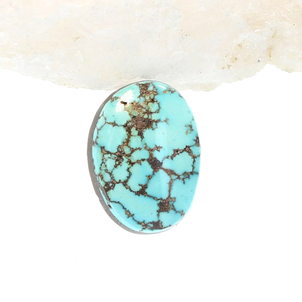 Turquoise Mountain TURQUOISE Cabochon High Grade Oval 15x11.5mm
