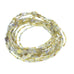 GOLD DRUSY DIAMOND BEADS 2.5-5mm POTATO SHAPED 16""